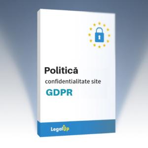 Politică de confidențialitate pentru site