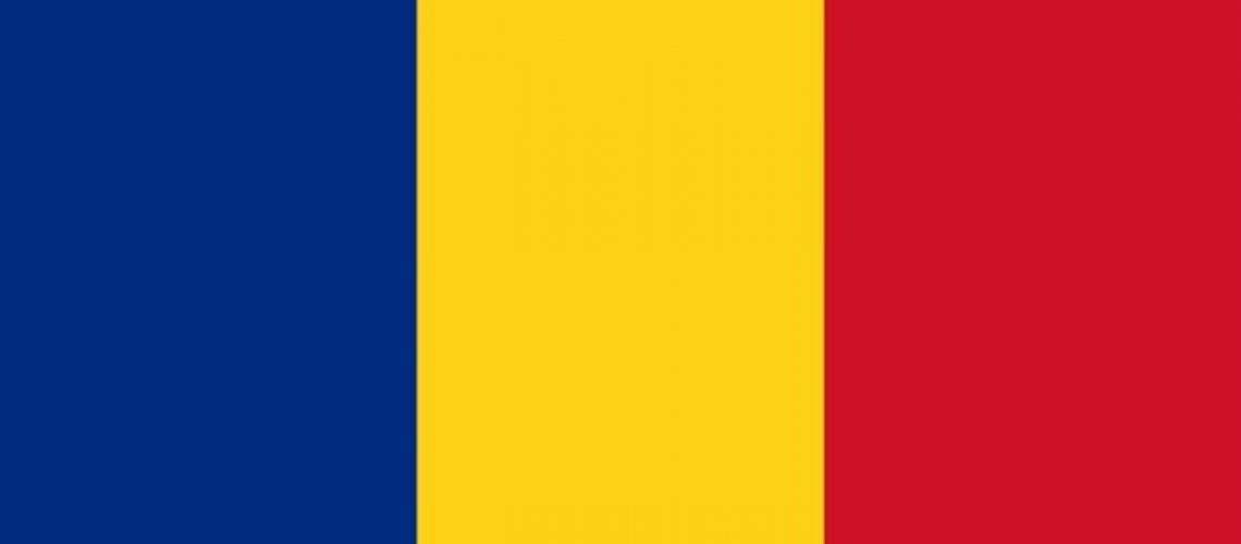 Illustration of Romania flag