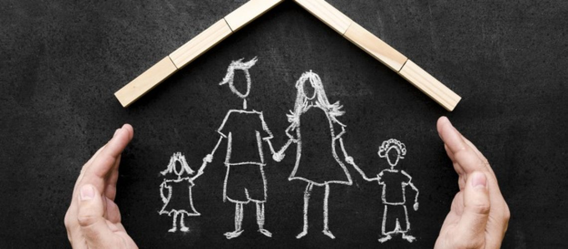 top-view-chalk-drawing-parents-with-their-children_23-2148485752